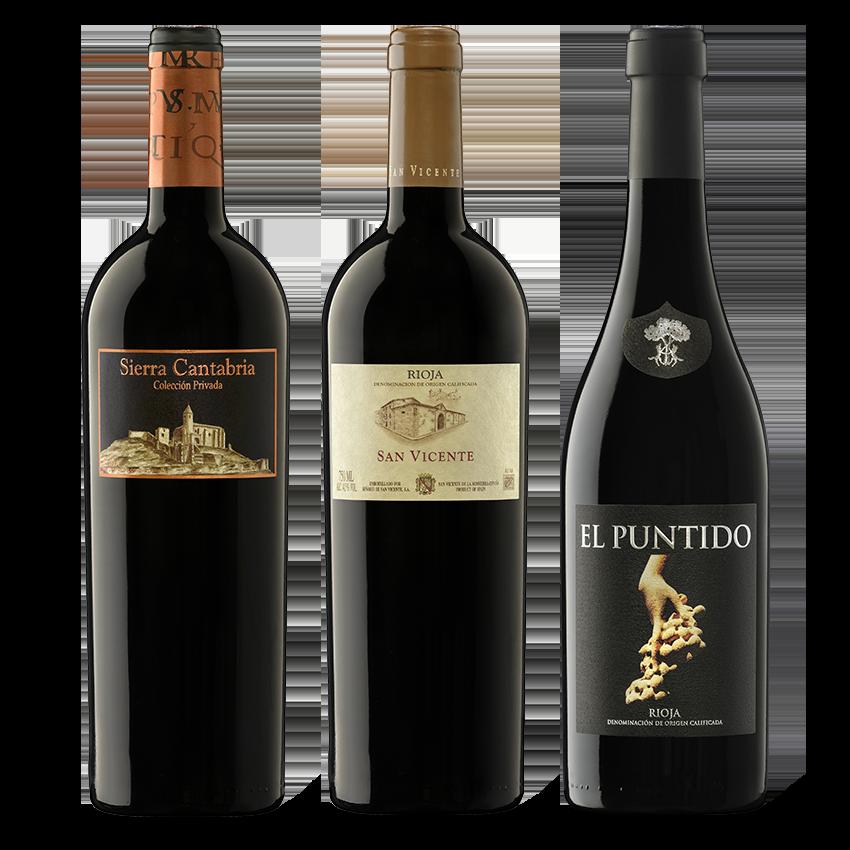 Horizontal Rioja 2016 Coleccion-Privada-2016-San-Vicente-2016-El-Puntido-2016