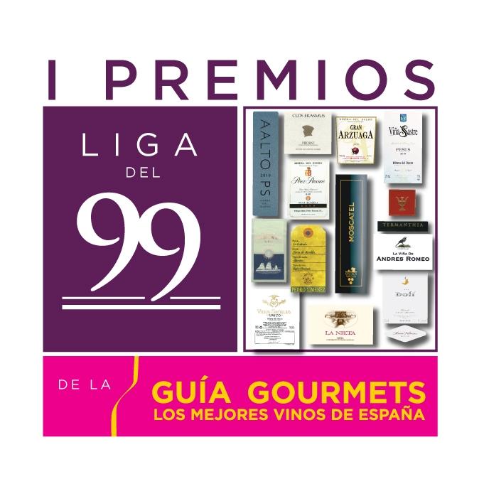 1os premios Liga del 99 de la GUÍA GOURMETS