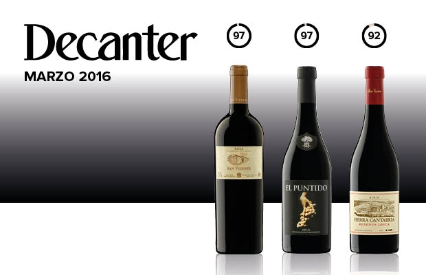 Decanter Top 50 Rioja 2016