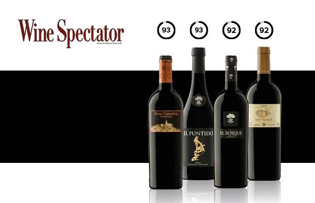 Wine Spectator elogia los vinos de Sierra Cantabria 2016
