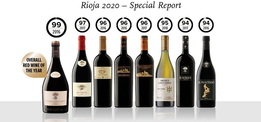 Sierra Cantabria Magico 2016 mejor rioja tinto 2020 Rioja Tim Atkin