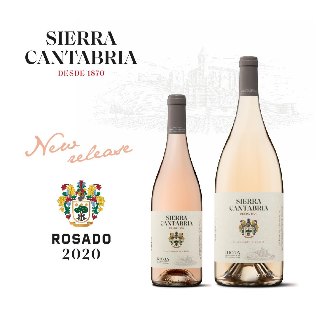 sierra cantabria rosé 2020 launch